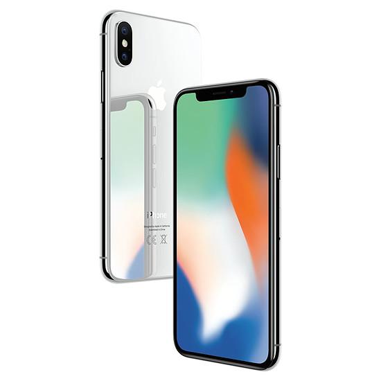 Smartphone et téléphone mobile Apple iPhone X (argent) - 64 Go