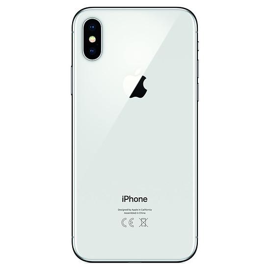 Smartphone et téléphone mobile Apple iPhone X (argent) - 64 Go - Autre vue