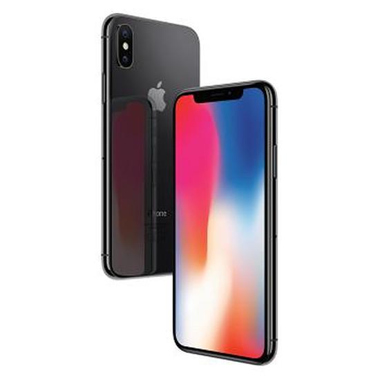Smartphone et téléphone mobile Apple iPhone X (gris sidéral) - 256 Go