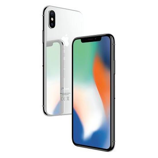 Smartphone et téléphone mobile Apple iPhone X (argent) - 256 Go
