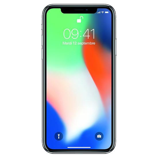 Smartphone et téléphone mobile Apple iPhone X (argent) - 256 Go - Autre vue