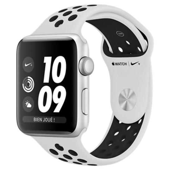Montre connectée Apple Watch Series 3 Nike+ - GPS - 38 mm
