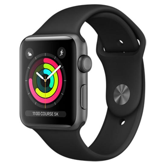 Montre connectée Apple Watch Series 3 - GPS - 38 mm
