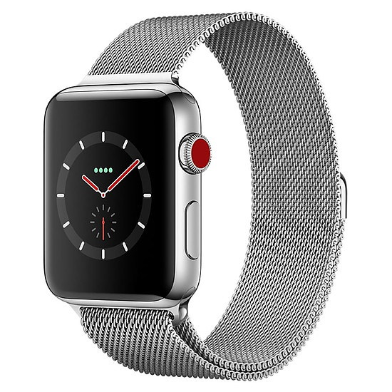 Montre connectée Apple Watch Series 3 (argent - argent) - Cellular - 42 mm