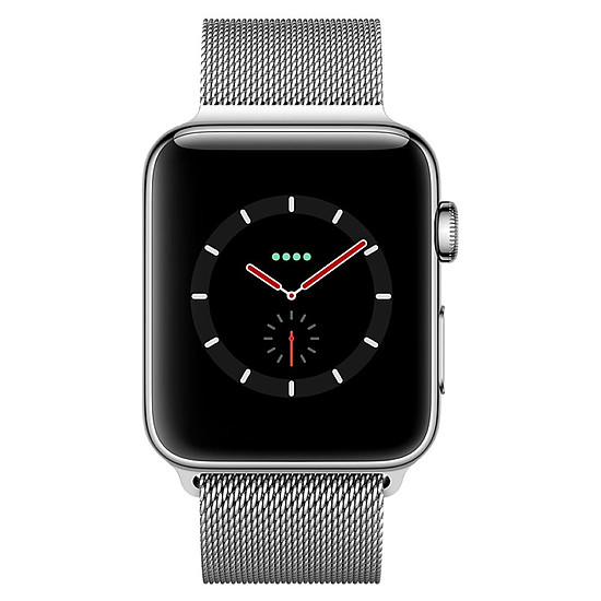 Montre connectée Apple Watch Series 3 (argent - argent) - Cellular - 42 mm - Autre vue