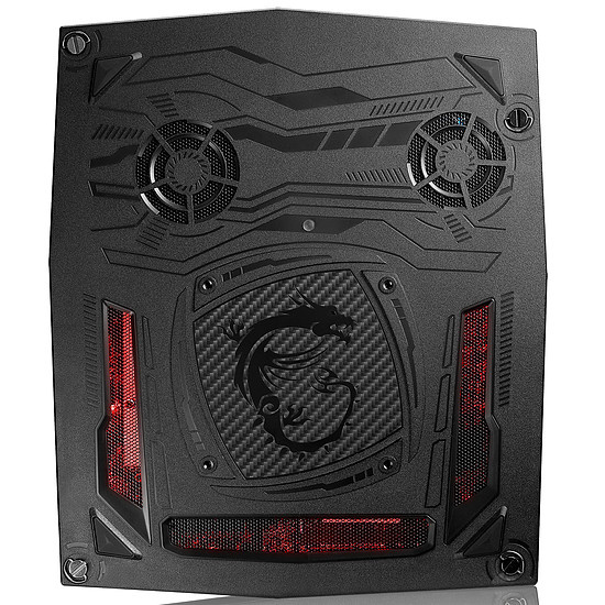 PC de bureau MSI Vortex G25 8RD-021FR - i7 - 8 Go - GTX 1060 - SSD - Autre vue