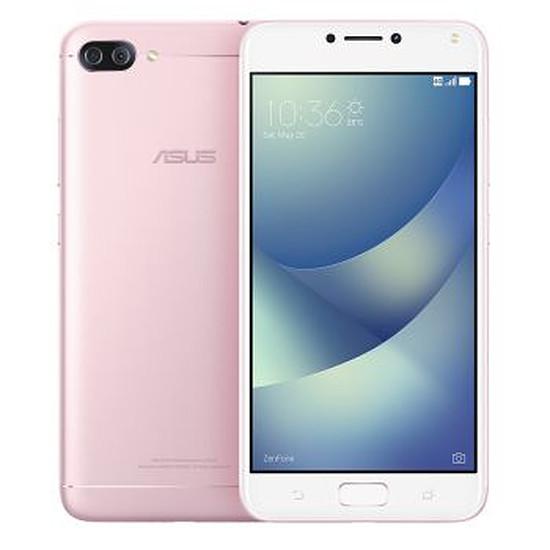 Smartphone et téléphone mobile Asus ZenFone 4 Max Plus ZC554KL (rose)