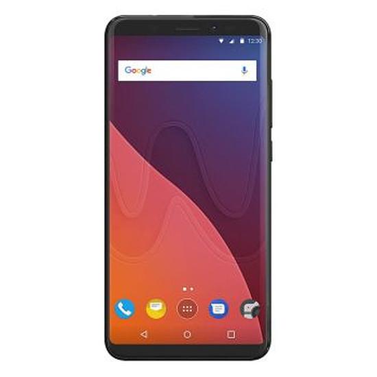 Smartphone et téléphone mobile Wiko View (noir) - 4G - 16 Go