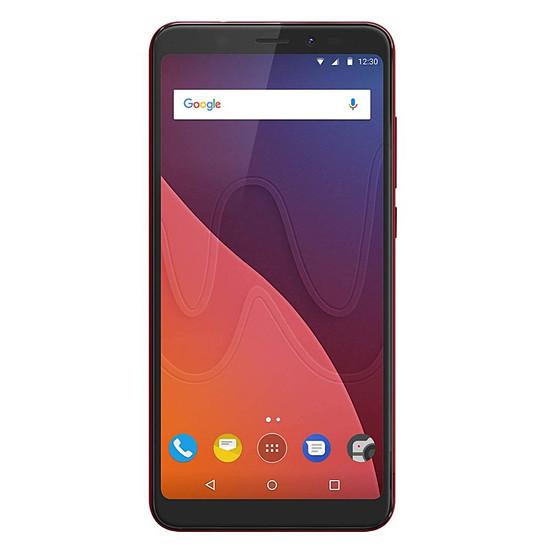 Smartphone et téléphone mobile Wiko View (rouge) - 4G - 16 Go