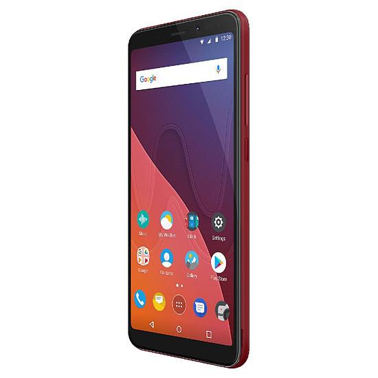 Smartphone et téléphone mobile Wiko View (rouge) - 4G - 16 Go - Autre vue