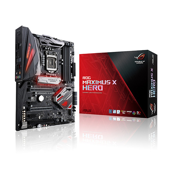 Carte mère Asus ROG - MAXIMUS X HERO