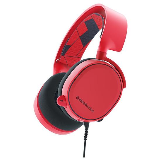 Casque micro SteelSeries Arctis 3 - Rouge