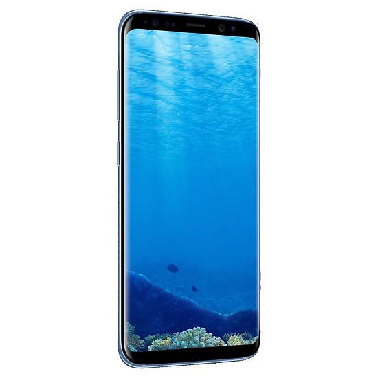 Smartphone et téléphone mobile Samsung Galaxy S8 (bleu) - 4 Go - 64 Go - Autre vue