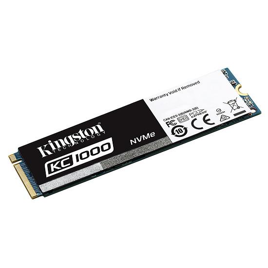 Disque SSD Kingston KC1000 M.2 PCIe NVMe - 480 Go