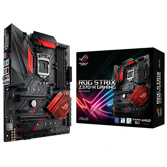 Carte mère Asus ROG STRIX Z370-H GAMING