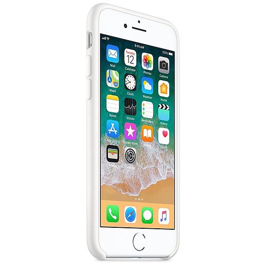 iphone 8 coque silicone blanche