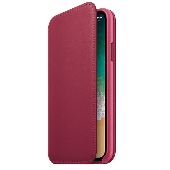 apple iphone x coque cuir