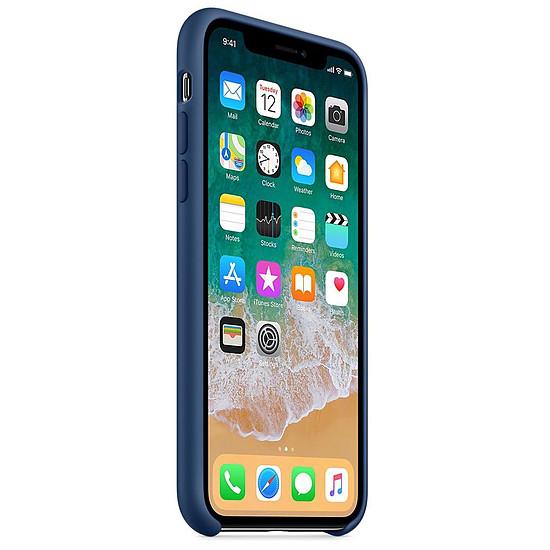 coque souple bleu iphone x