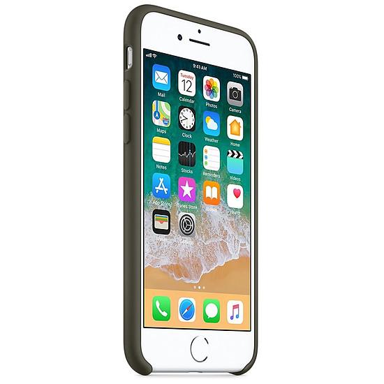 Coque et housse Apple Coque silicone (olive) - iPhone 8 / 7