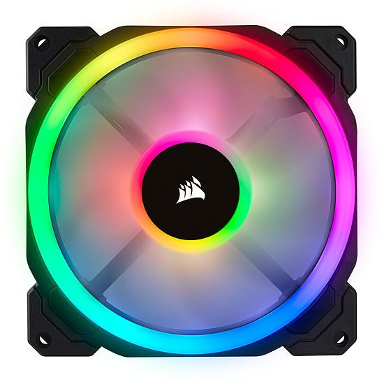 Ventilateur Boîtier Corsair LL120 RGB -  120MM PWM PACK DE 3 + Node Pro - Autre vue