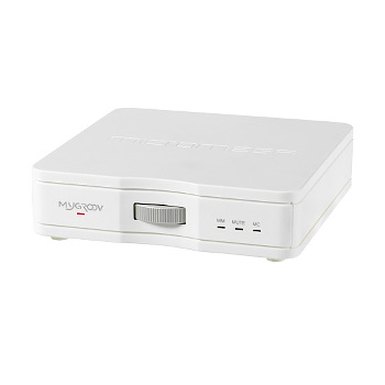Support enceinte Micromega MYGROOV Blanc Préamplificateur Phono MM/MC