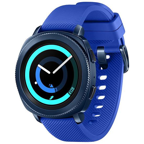 Montre connectée Samsung Gear Sport (bleu nuit)
