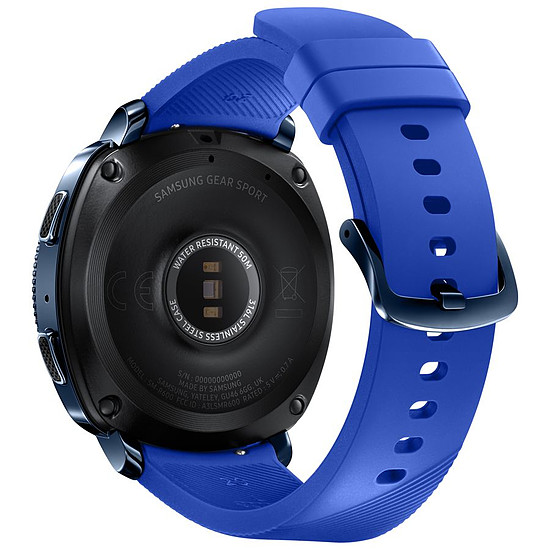 Montre connectée Samsung Gear Sport (bleu - bleu) - GPS - 44 mm - Autre vue