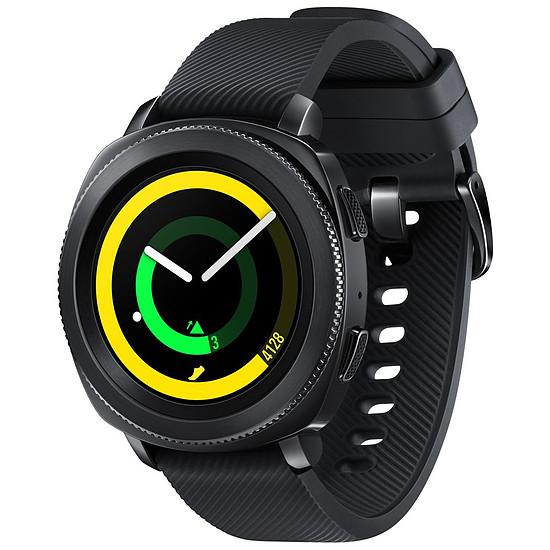 Montre connectée Samsung Gear Sport (noir - noir) - GPS - 44 mm