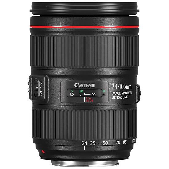 Objectif pour appareil photo Canon EF 24-105mm f/4L IS II USM