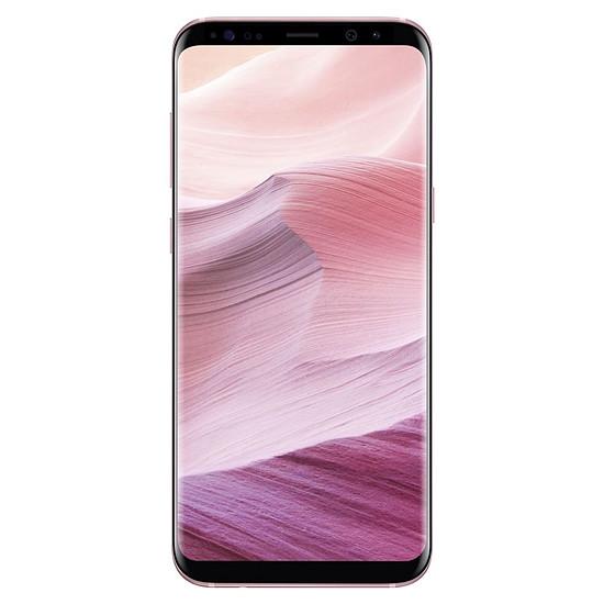 Smartphone et téléphone mobile Samsung Galaxy S8+ (rose poudré) - 4 Go - 64 Go