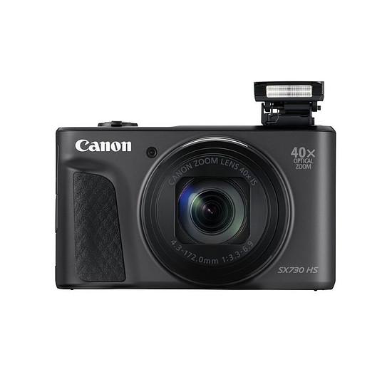 Appareil photo compact ou bridge Canon Powershot SX730 Noir + Etui + Gorilla Pod - Autre vue