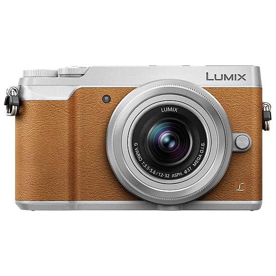 Appareil photo hybride Panasonic Lumix DMC-GX80 marron + 12-32 mm