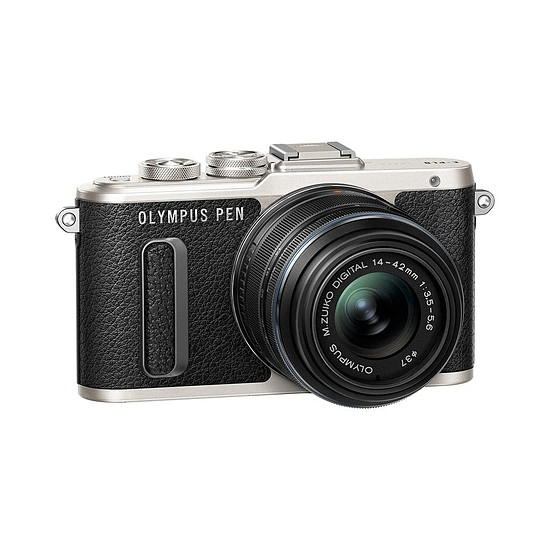 Appareil photo hybride Olympus PEN E-PL8 noir + EZ Pancake 14-42 mm