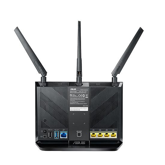 Routeur et modem Asus RT-AC86U - Routeur WiFi AC2900 double bande - Autre vue