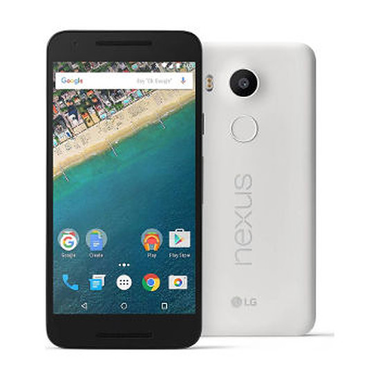 Smartphone et téléphone mobile LG Nexus 5X (blanc) - 32 Go