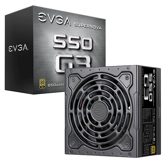Alimentation PC EVGA SuperNOVA G3 550W