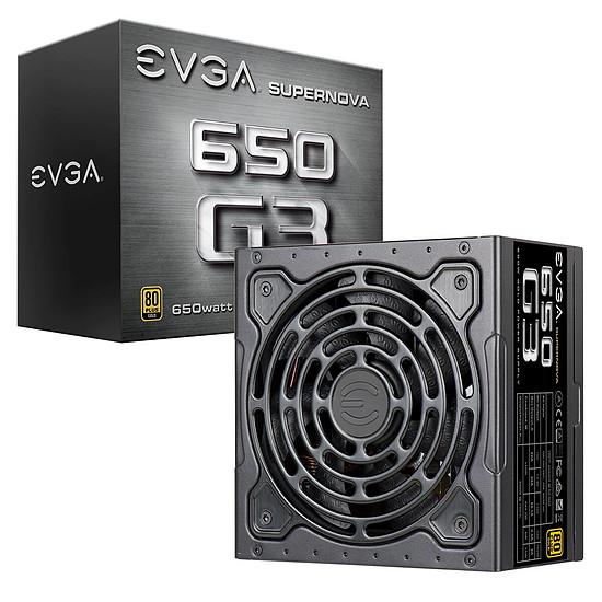Alimentation PC EVGA SuperNOVA G3 650W