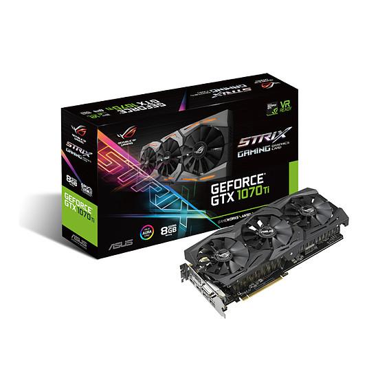 Carte graphique Asus GeForce GTX 1070 Ti STRIX - 8 Go