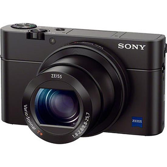Appareil photo compact ou bridge Sony CyberShot DSC-RX100 III + Etui LCS-RXG + Grip AG-R