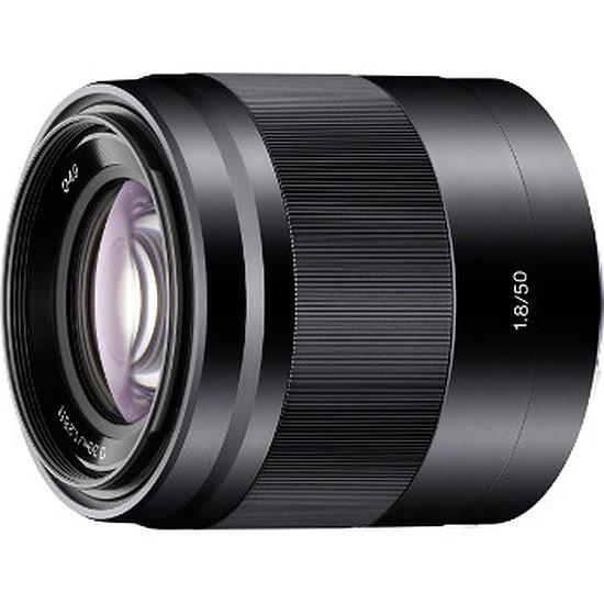 Objectif pour appareil photo Sony SEL 50 mm f/1.8