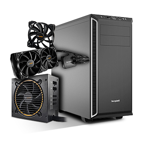 Boîtier PC Be Quiet Pure Base 600 + Pure Power 10 CM + Silent Loop +