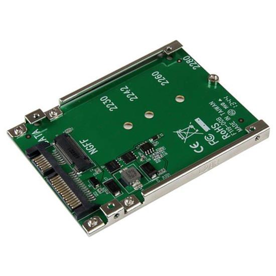 "Serial ATA StarTech.com Adaptateur M.2 NGFF SSD vers SATA 2,5"""
