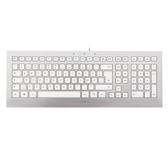 Clavier PC Cherry Strait 3.0 - Argent