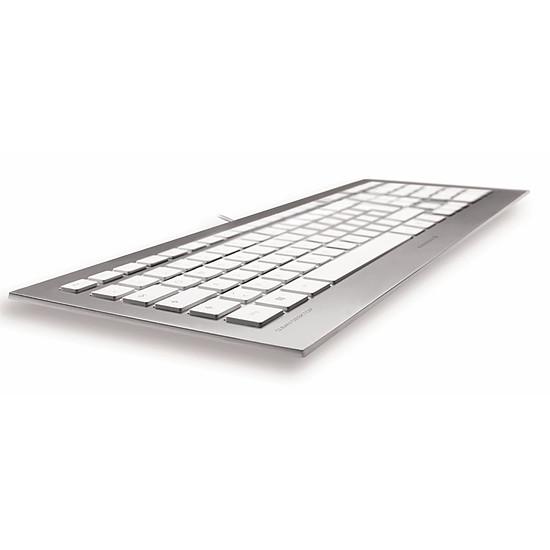 Clavier PC Cherry Strait 3.0 - Argent - Autre vue