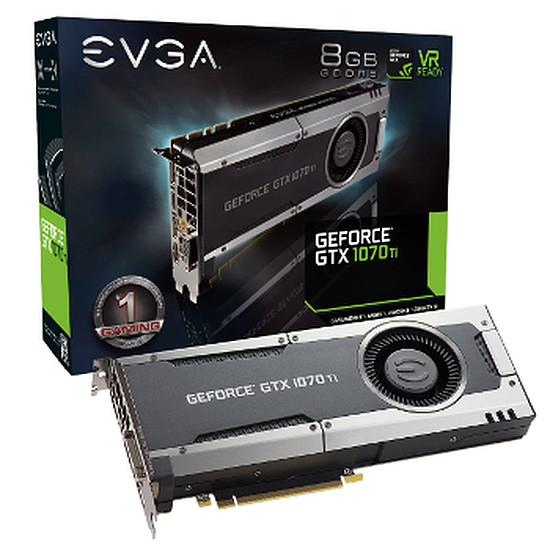 Carte graphique EVGA GeForce GTX 1070 Ti - 8 Go