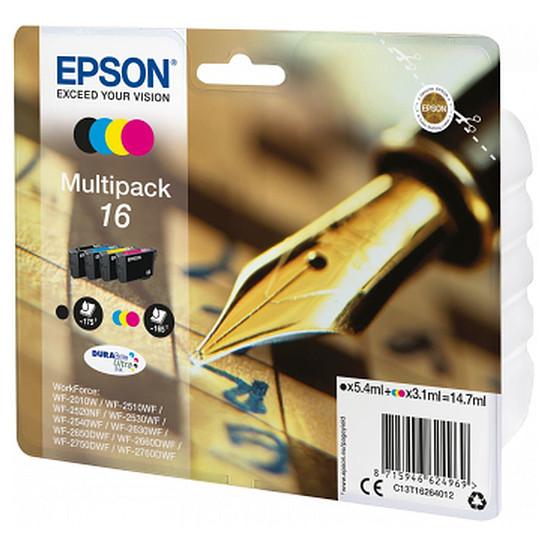 """Cartouche imprimante Epson Multipack 16 - """"stylo à plume"""" - 4 couleurs"""
