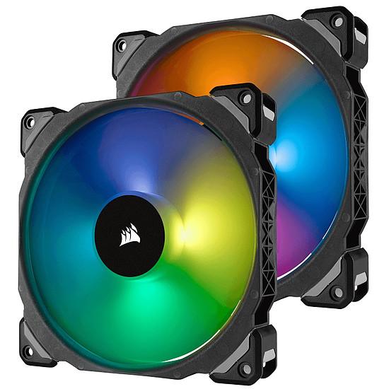 Ventilateur Boîtier Corsair ML140 PRO RGB PACK DE 2 + NODE PRO