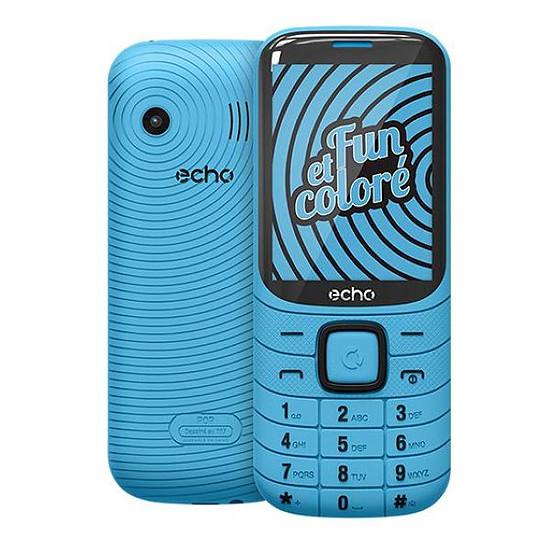 Smartphone et téléphone mobile Echo Pop (bleu)