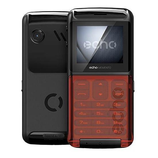 Smartphone et téléphone mobile Echo Memento (noir)