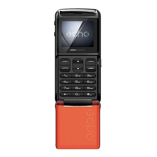 Smartphone et téléphone mobile Echo Memento (noir) - Autre vue